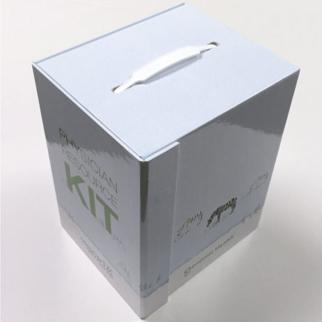 Custom Rigid Box Physician Resource Kit Closed