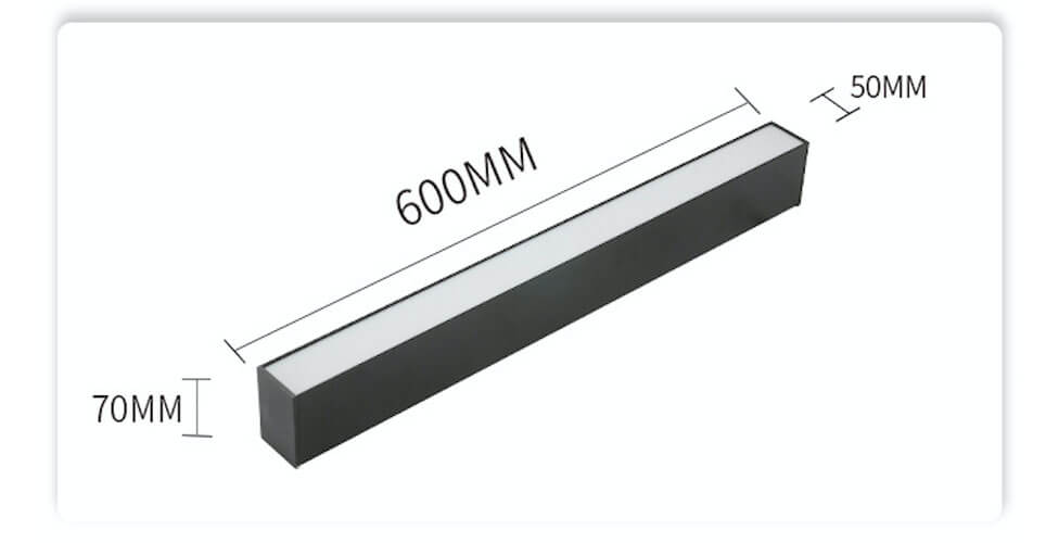 5070 suspension led linear light led