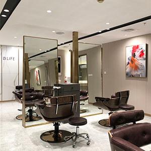 led light design for barber shop led
