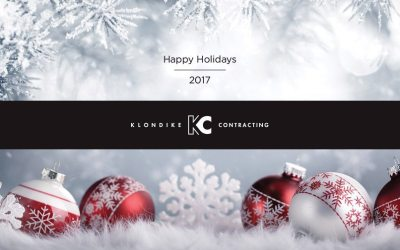 Happy Holidays 2017 from Klondike Contracting!