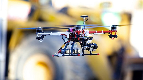 Drones as construction tools