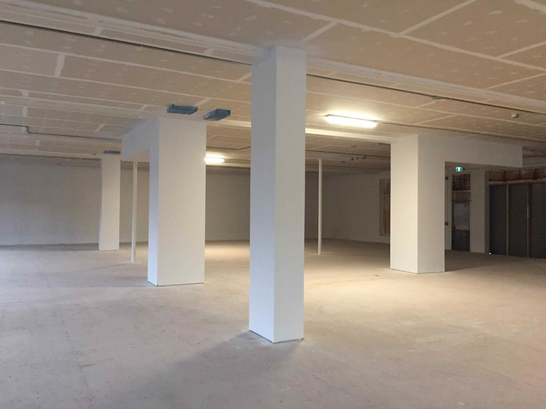 Turner Meakin seismic upgrade project - Interior