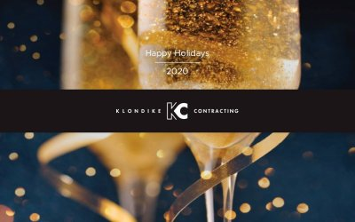 Happy Holidays 2020 from Klondike Contracting!
