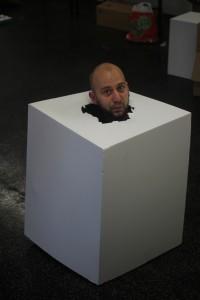 Robin Hartmann in a box