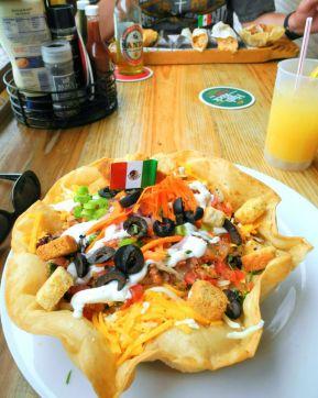 Salat an der Bar