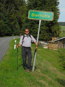 """Die """"Bierhütte"""" :-)"""