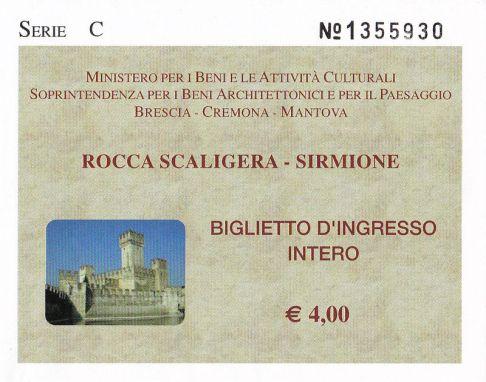 Gardasee -Ticket Sirmione