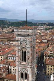 Turm von der Kuppel aus fotografiert