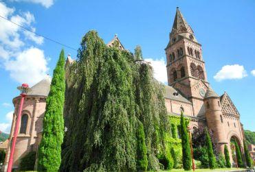 Die Kirche in Munster