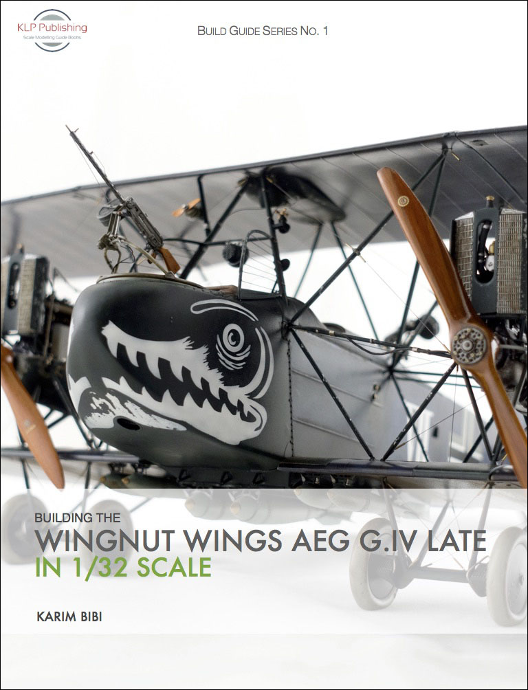 Building the Wingnut Wings AEG G IV Late in 1/32 Scale