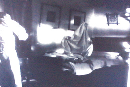 The ghost made up of sheets
