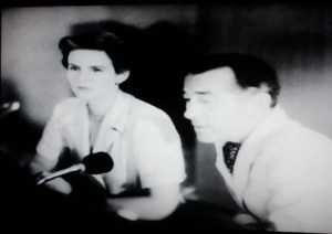 Judith Carroon and Prof. Quatermass