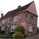 Crooked house in Lavenham