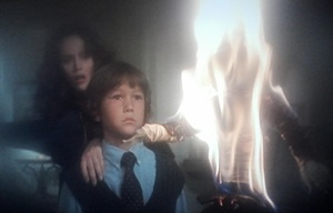 David sets fire to his father