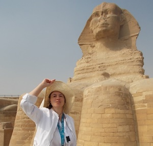 Me and the Sphinx