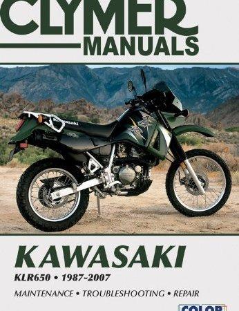 Kawasaki Klr650 1987 2007 Clymer Color Wiring Diagrams By Penton Staff 2000 Paperback Kawasaki Klr 650 Dual Sport