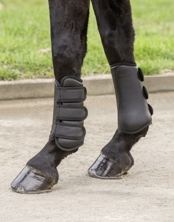 Tendon Boots Black