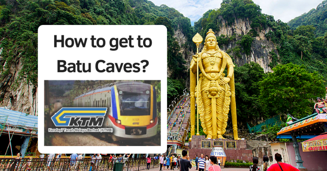 KL Sentral to Batu Caves by KTM
