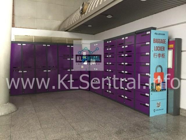 Dr Locker at KL Sentral near to MRT station