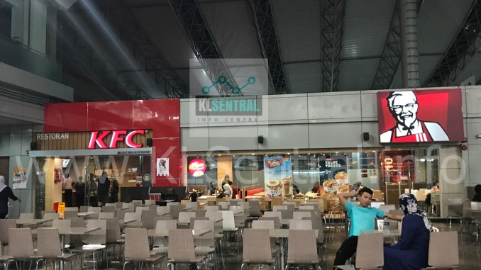 KFC Kentucky Fried Chicken Restaurant KL Sentral