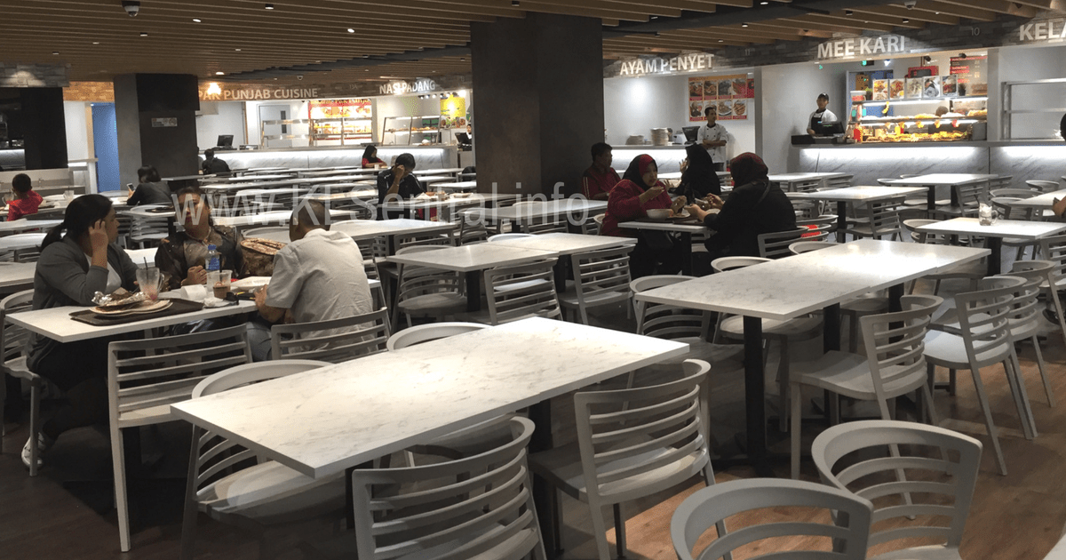 KL-Sentral-Food-Court-Malay-Indian-Food