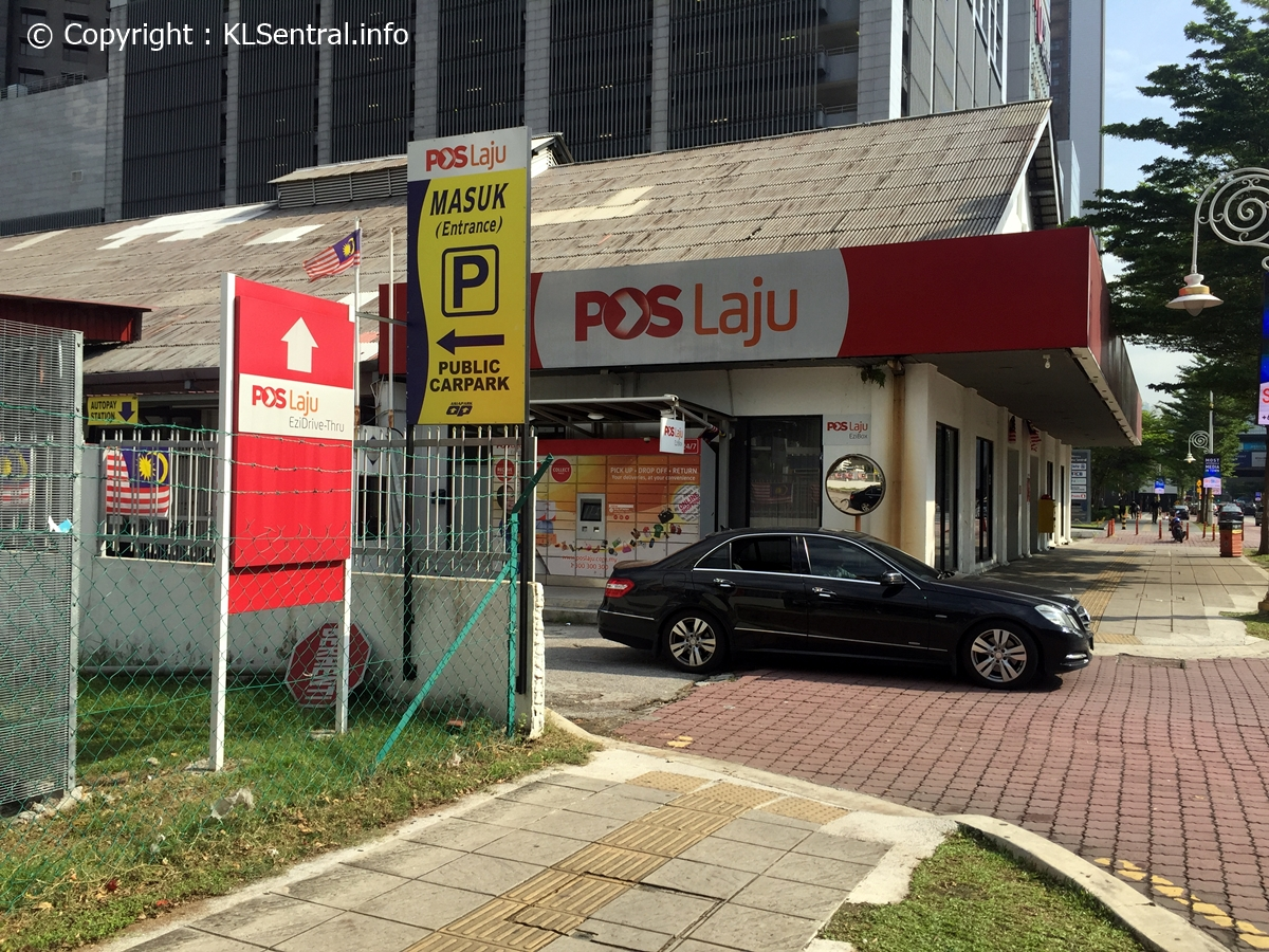 Poslaju-public-outdoor-parking-KL-Sentral