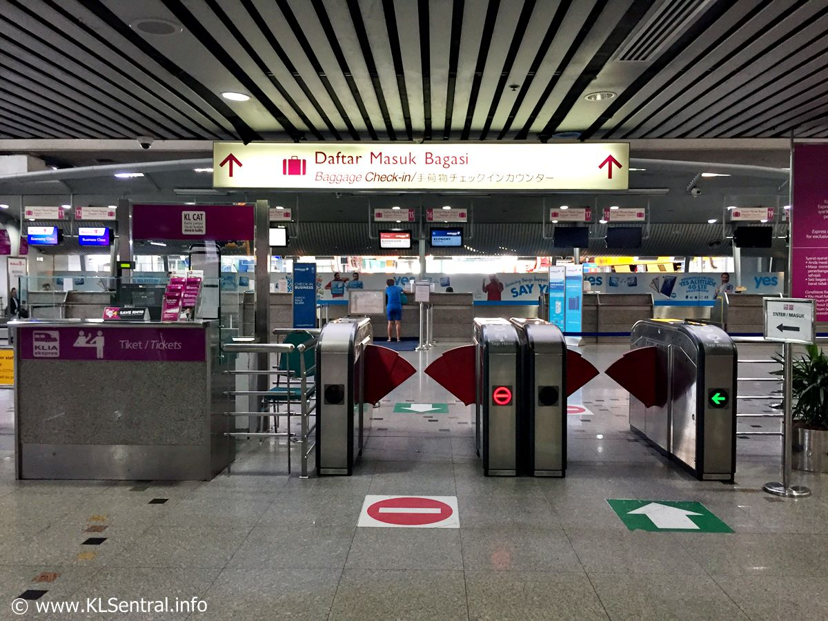 KL Sentral Luggage Check-In