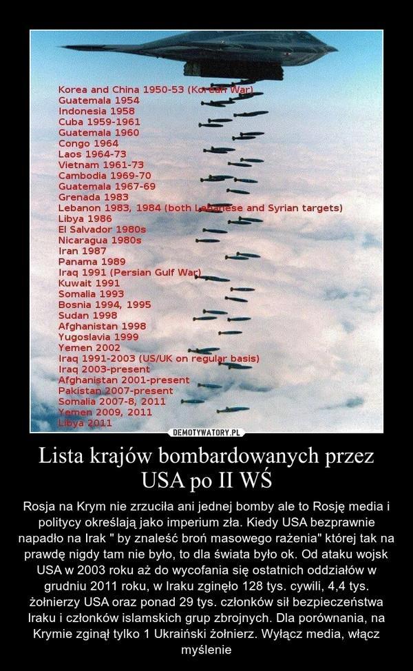 USA_bombardowania