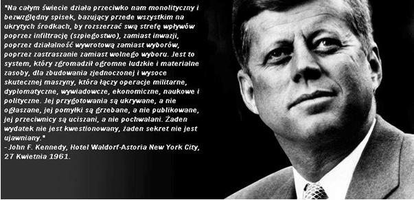 Kennedy o spisku
