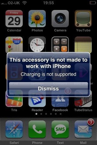 iPhone Charging Not Supported