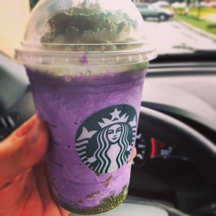Witches Brew frapp (for the kids)