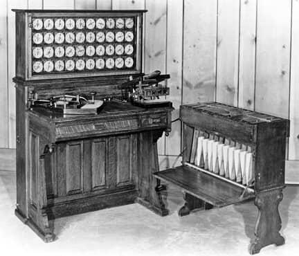 hollerith machine