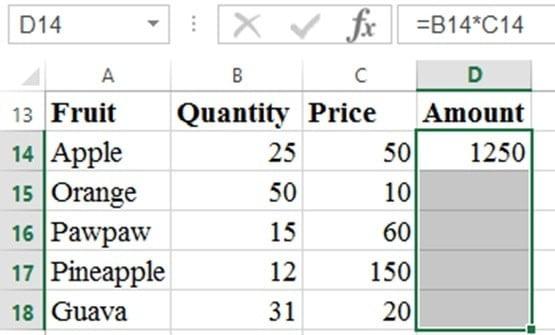 filling multiplication