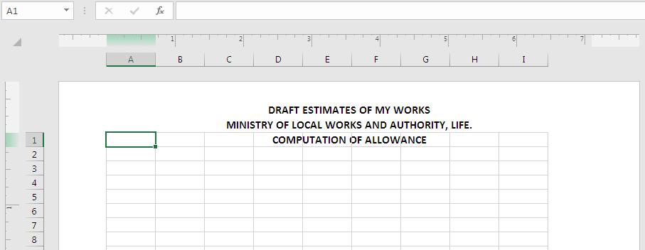 Data Entry - Headers