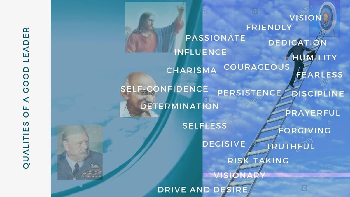 Qualities of a good leader - leadership qualities
