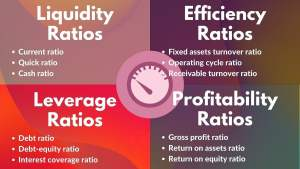 analysis of financial ratios - types of financial ratios