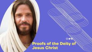 the deity of Jesus Christ