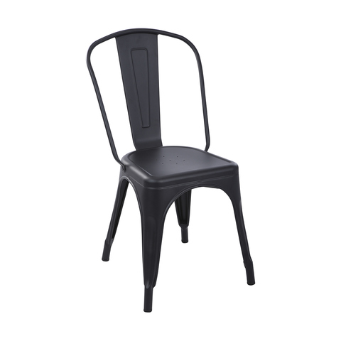 Black Metal Dining Chairs
