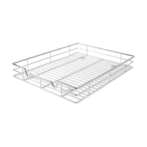 chrome pull out drawer sliding organiser