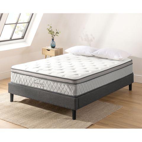 king bed euro top pocket spring mattress