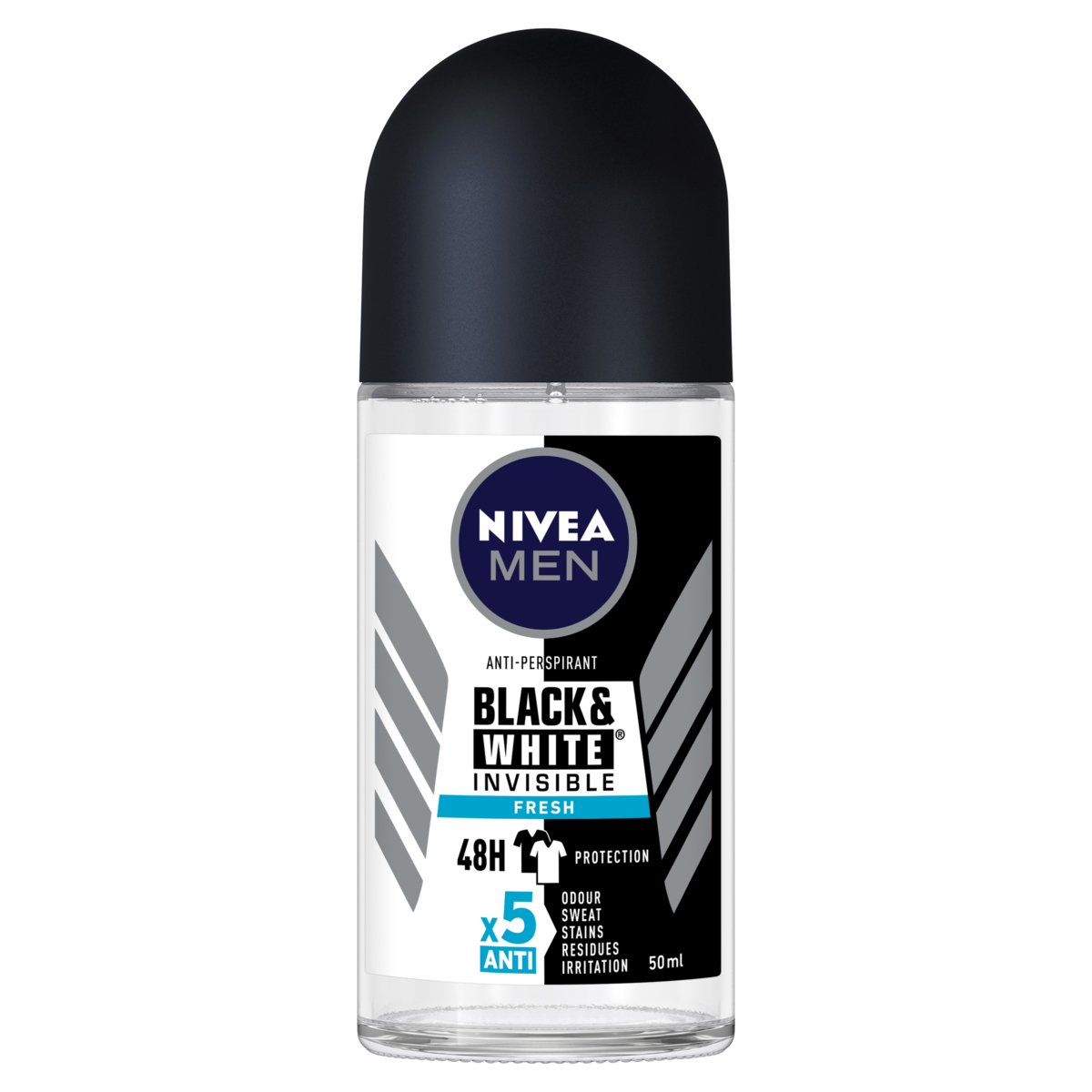 NIVEA Invisible For Black Amp White Fresh Roll On Deodorant