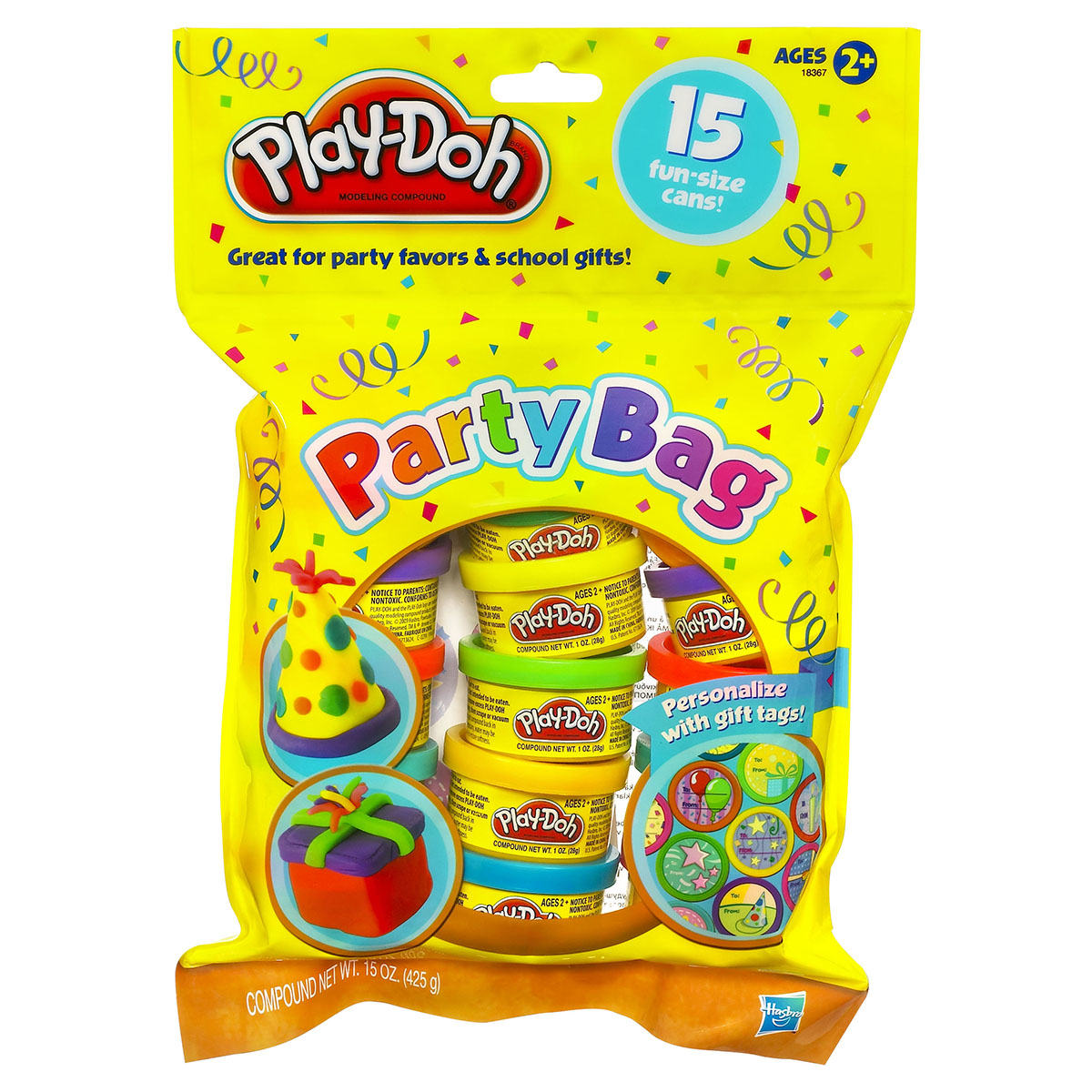 Play Doh Party Bag Pack Of 15 Kmart