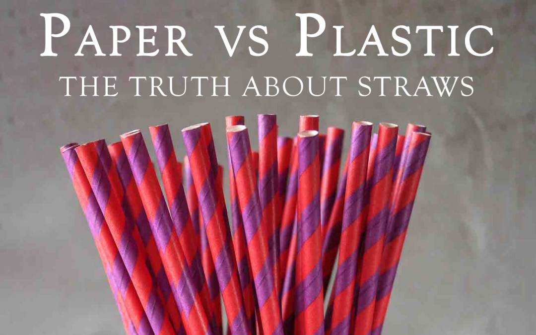 Are Paper Straws Better Than Plastic?