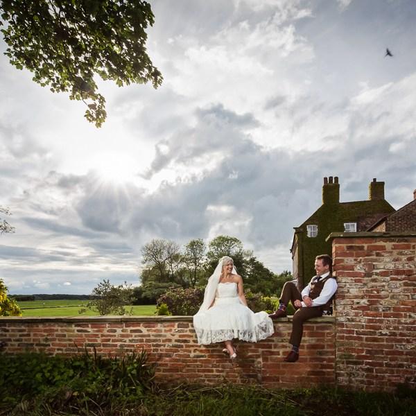 Wedding in Bolton Percy
