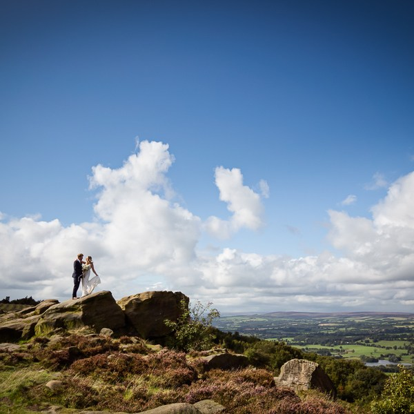 Wedding at Otley Chevin
