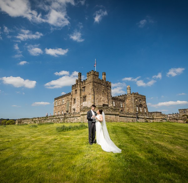 Wedding at Ripley Castle