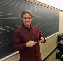 My favorite sound engineer at Indiana University, Konrad Strauss
