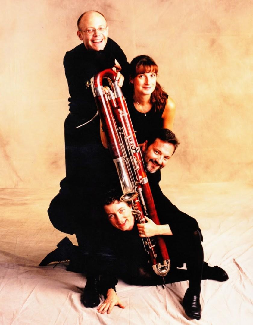 The Caliban Bassoon Quartet - Fraser Jackson, Kathleen McLean, Christopher Millard, Nadina Mackey