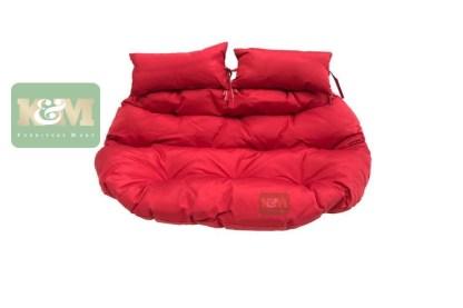 K&M Red Cushion