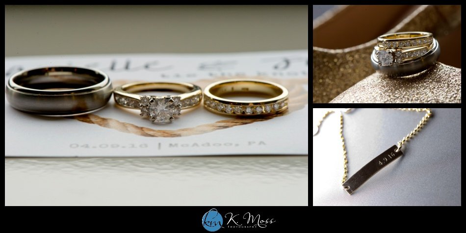 reading pa wedding photographer - berks county wedding photographer - wedding photography in berks county - capriottis mcadoo wedding photographer - wedding rings gold - wedding bracelet customized - wedding bracelet with date